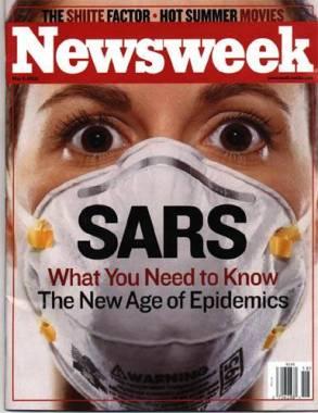 SARS Portada Newsweek