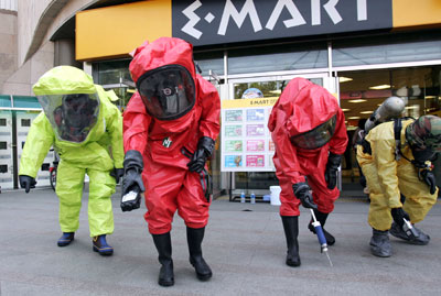 bioterrorism colour team