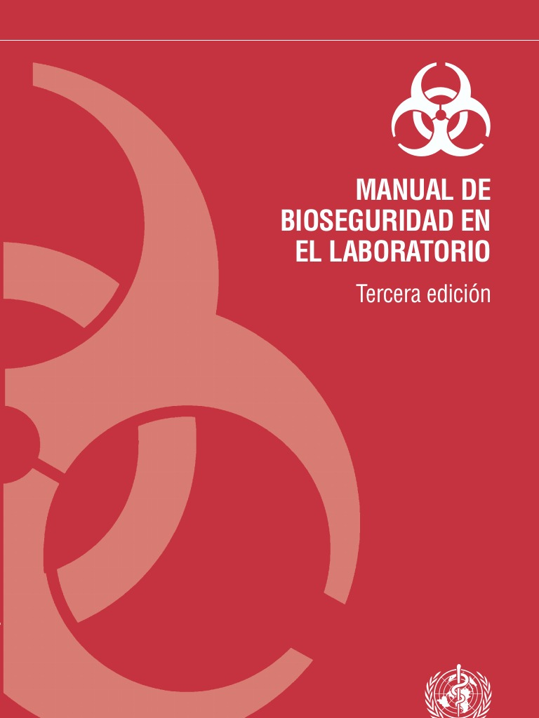 OMS Biosafety portada Manual